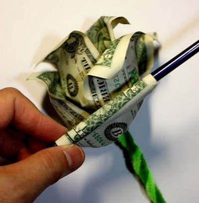 Подарок из денег своими руками