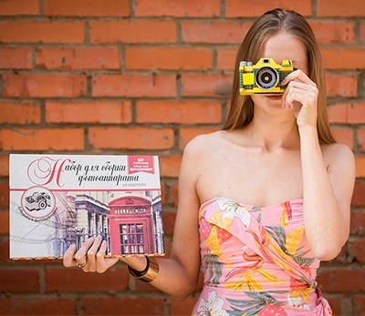 Интересный подарок — набор для сборки фотоаппарата