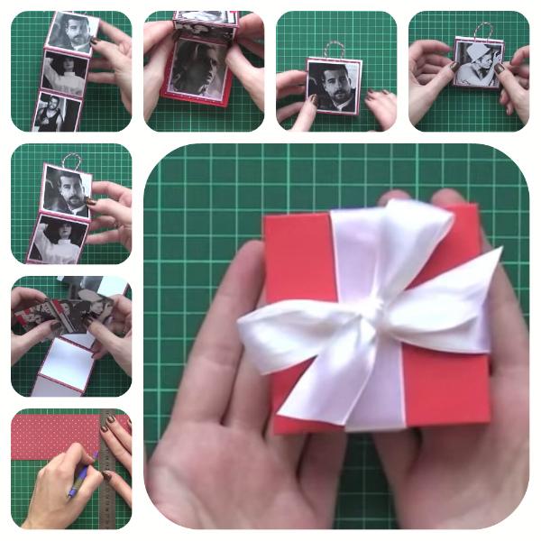 Романтический подарок мужчине своими руками