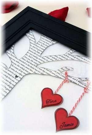 оригинальный подарок на День влюбленных своими руками